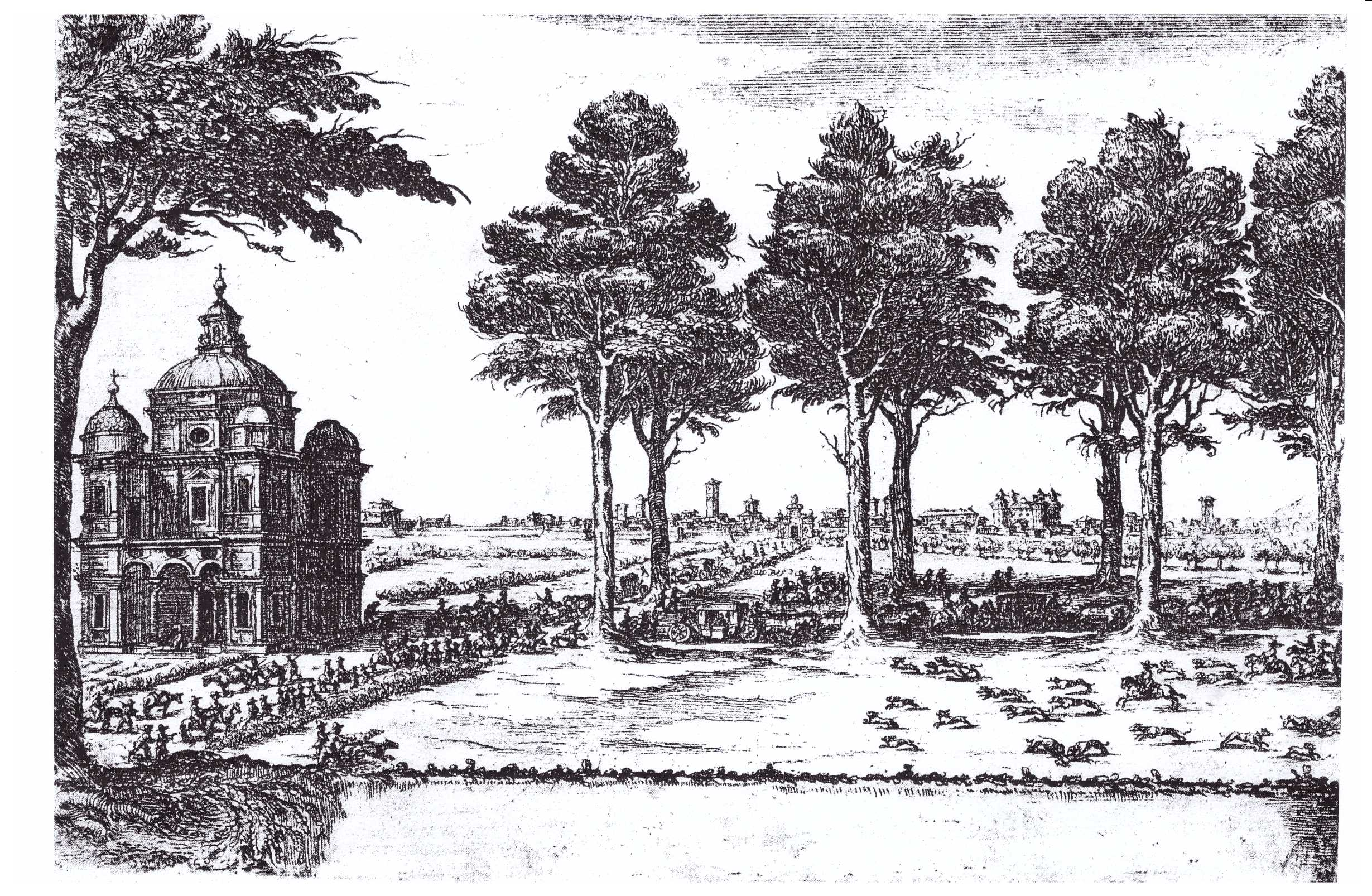 Corso Marconi nel '600